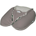 Coussin multirelax plus jersey taupe/ficelle pas cher