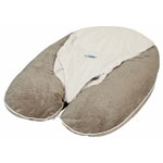 Coussin multirelax plus soft boa taupe/ecru pas cher