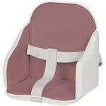 Coussin de chaise pvc figue/blanc pas cher