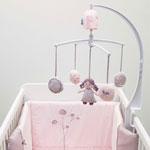 Mobile bébé musical poème pas cher