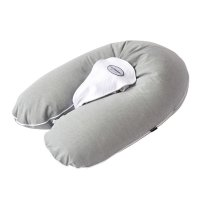 Coussin multirelax polyester coton chiné gris
