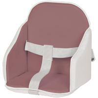 Coussin de chaise pvc figue/blanc