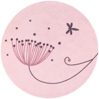 Tapis de chambre bébé jolie fleur