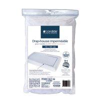 Drap housse bébé imperméable sleep safe blanc 70 x 140 cm