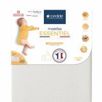 Matelas bébé essentiel déhoussable 70 x 140 cm