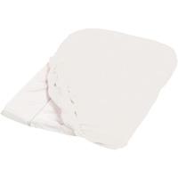 Housse de matelas à langer éponge 50 x 75 cm blanc