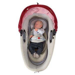 Candide Coussin réducteur réversible baby pad