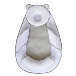 Cale bébé panda pad air + blanc/gris