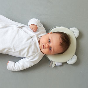 Candide Cale tête bébé p'tit panda air + gris