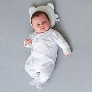 Candide Cale tête bébé p'tit panda air + blanc