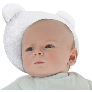 Candide Cale tête bebe p'tit panda blanc