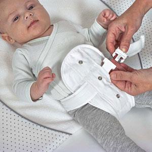 Candide Plan incliné bébé 25° avec ceinture de maintien