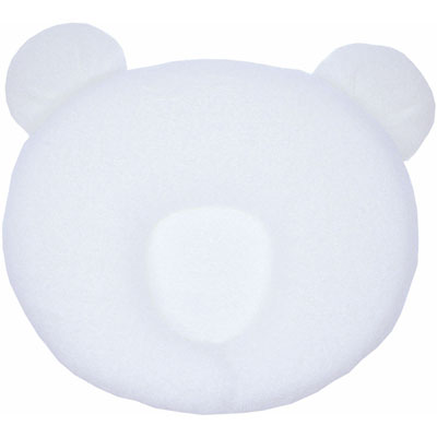 Cale tête bebe p'tit panda blanc Candide