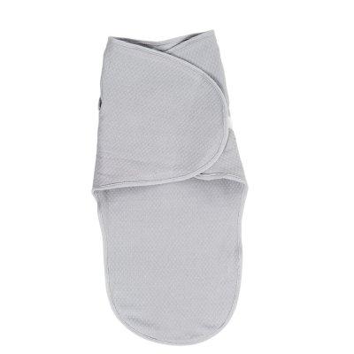 Couverture d'emmaillotage gris Candide