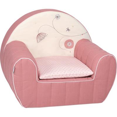 fauteuil club d houssable coussin jolie fleur 15 sur allob b. Black Bedroom Furniture Sets. Home Design Ideas