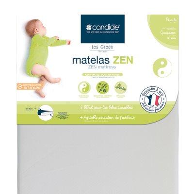 Matelas bébé zen déhoussable 70 x 140 cm Candide
