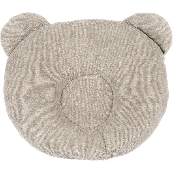 Cale tête bébé p'tit panda gris Candide