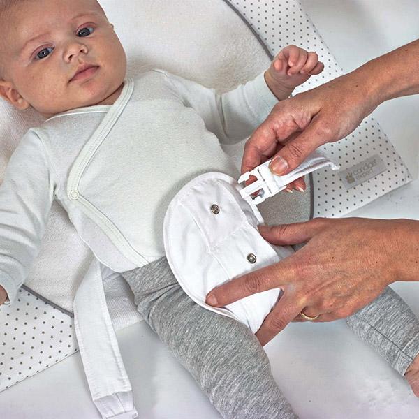 Plan incliné bébé 25° avec ceinture de maintien Candide