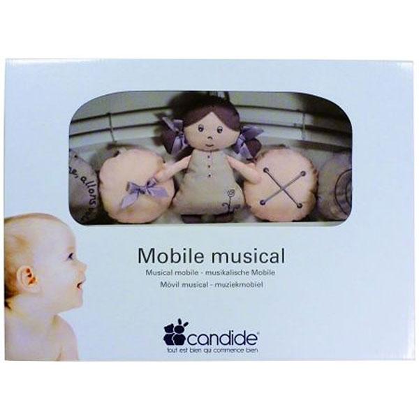Mobile bébé musical poème Candide