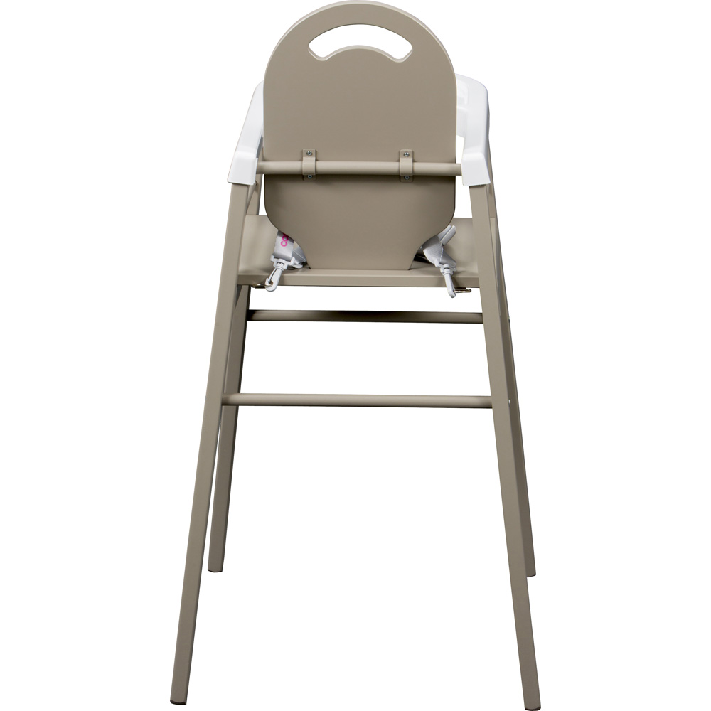 Chaise haute b b lili gris de combelle for Chaise haute combelle