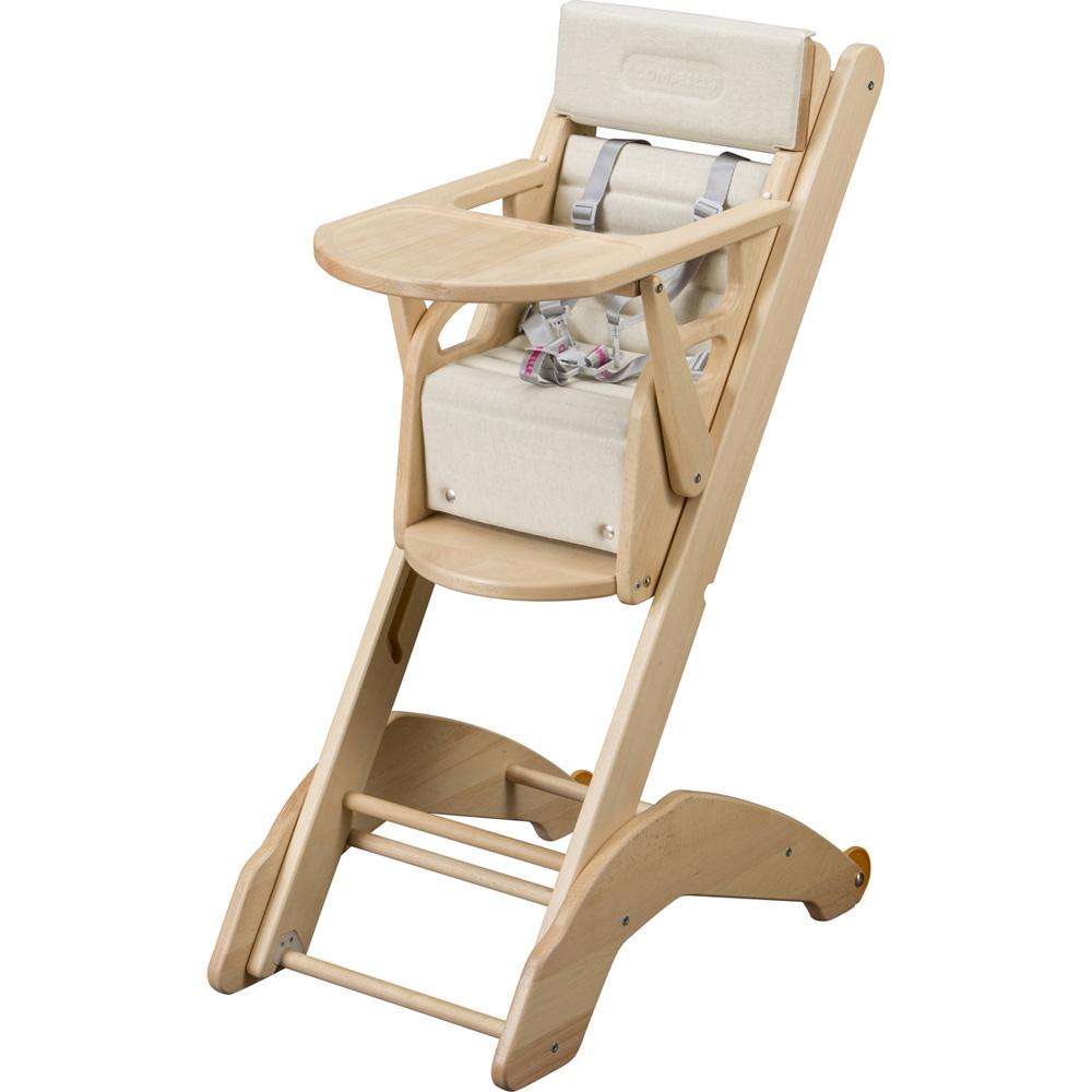 chaise haute b b twenty one evo naturel de combelle sur allob b. Black Bedroom Furniture Sets. Home Design Ideas