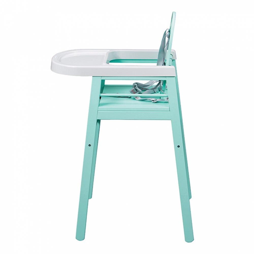 chaise haute b b lili vert mint de combelle sur allob b. Black Bedroom Furniture Sets. Home Design Ideas