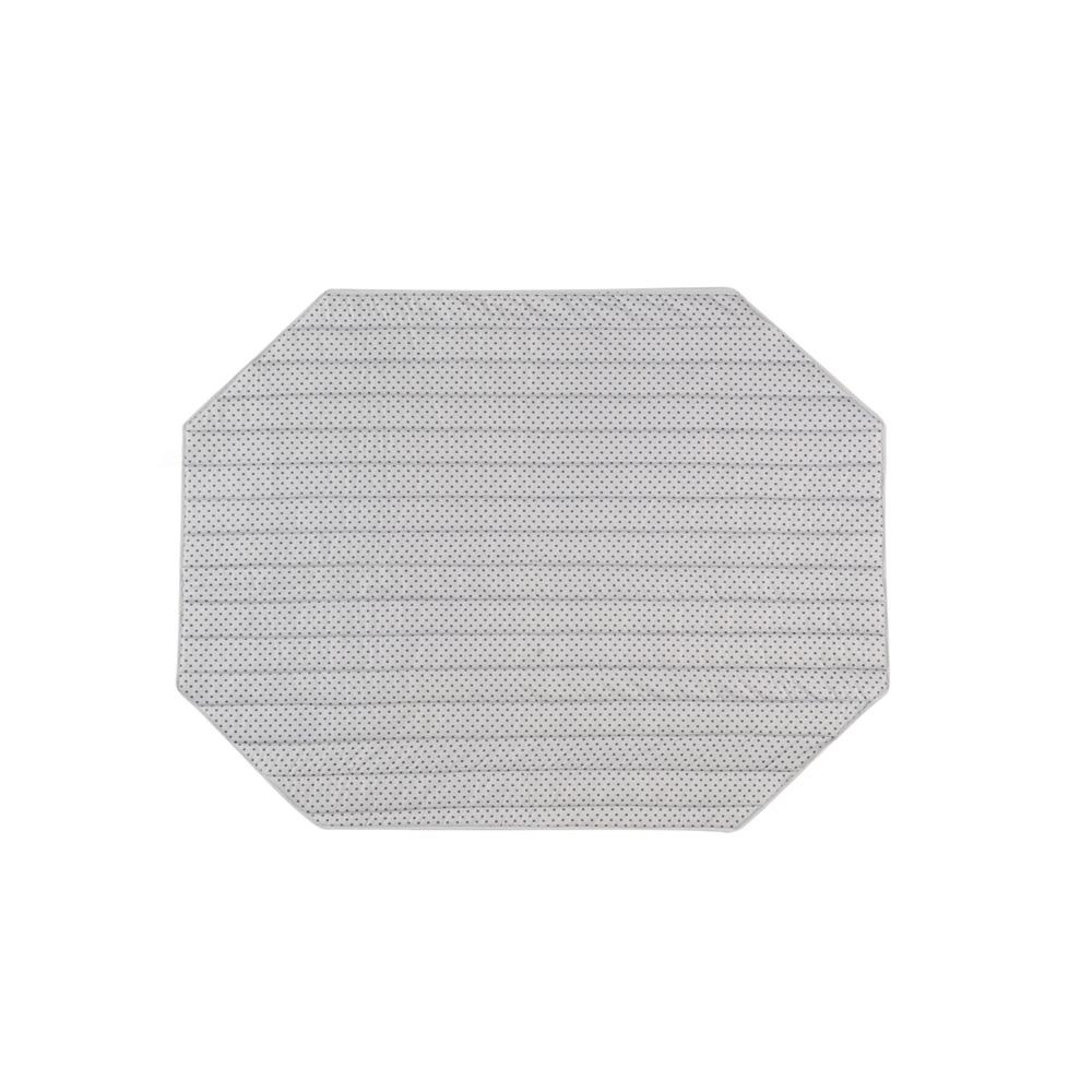 Tapis de parc b b 145x108cm confort toiles ovale de combelle Tapis de parc hexagonal