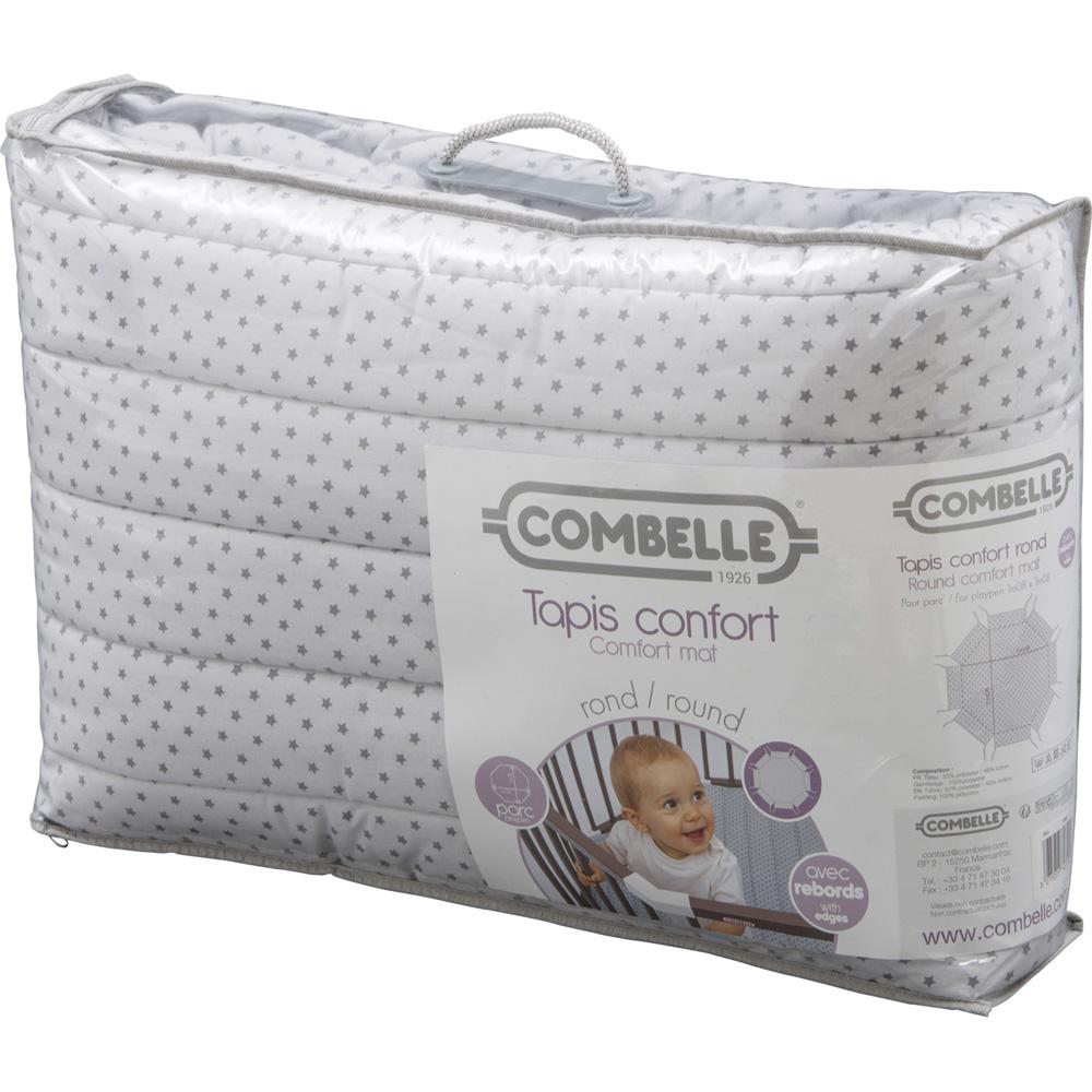 tapis de parc b b 108x108cm confort toiles rond de combelle sur allob b. Black Bedroom Furniture Sets. Home Design Ideas