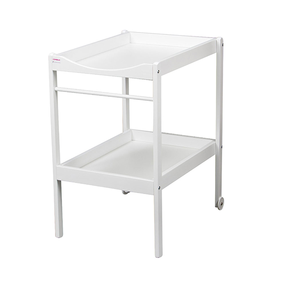 Table langer alice blanche 25 sur allob b for Table a langer blanche
