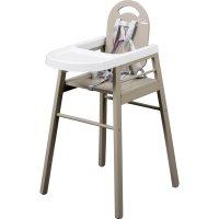 Chaise haute bébé lili gris