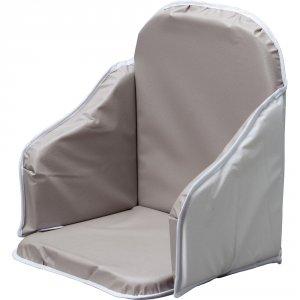 coussin de chaise pvc gris de combelle en vente chez cdm. Black Bedroom Furniture Sets. Home Design Ideas