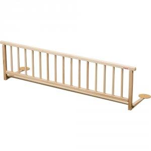 Barriere de lit pliante vernis