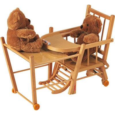 chaise haute b b transformable de combelle chez naturab b. Black Bedroom Furniture Sets. Home Design Ideas