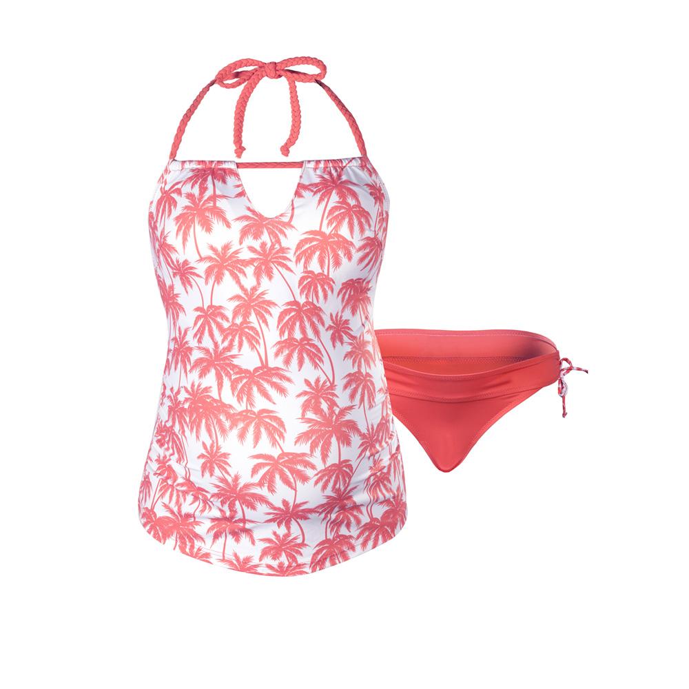 maillot de bain de grossesse tankini 2 pi ces bounty corail de cache coeur en vente chez cdm. Black Bedroom Furniture Sets. Home Design Ideas