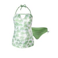Maillot de bain de maternité tankini 2 pièces bounty vert
