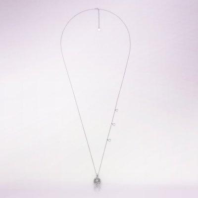 Bola de grossesse bulle avec chaîne argent 925 Cache coeur