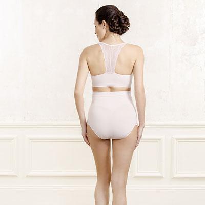 Maxi culotte de grossesse serenity pétale Cache coeur