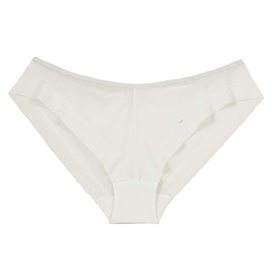 Culotte invisible taille basse 3d light blanc Cache coeur