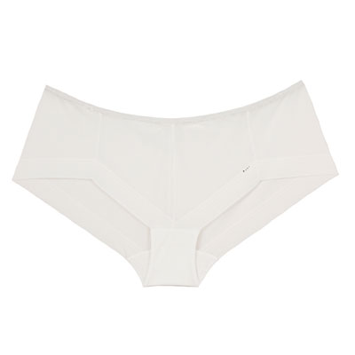 Shorty invisible taille basse 3d light blanc Cache coeur