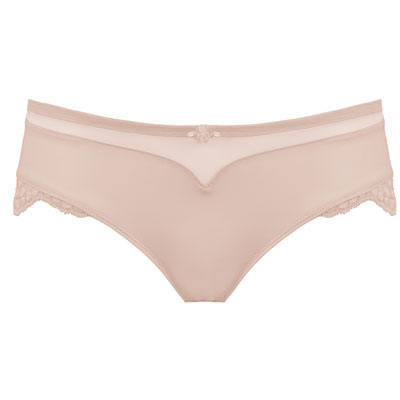 Shorty de maternité lollypop nude Cache coeur