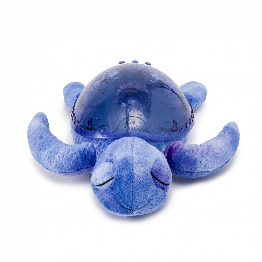 Veilleuse projection musicale tortue violet de cloud b - Veilleuse musicale projection plafond ...