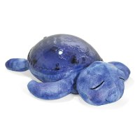 Veilleuse projection musicale tortue violet