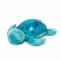 Veilleuse projection musicale tortue bleu