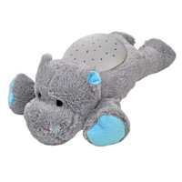 Veilleuse buddies hippopotame