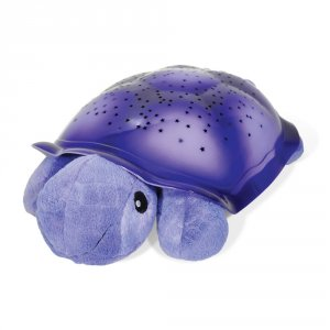 Veilleuse constellations tortue violet