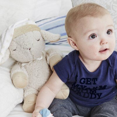 Peluche bébé apaisante sleep sheep smart sensor Cloud b