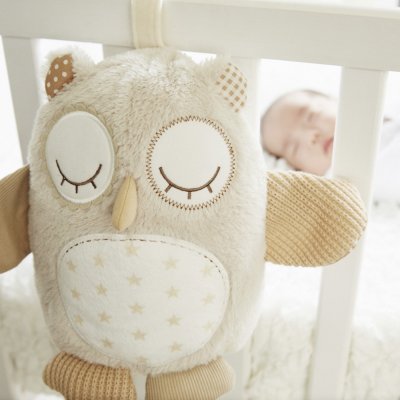 Peluche bébé apaisante chouette nighty night owl smart sensor Cloud b