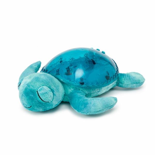 Veilleuse projection musicale tortue bleu 15 sur allob b - Veilleuse musicale projection plafond ...