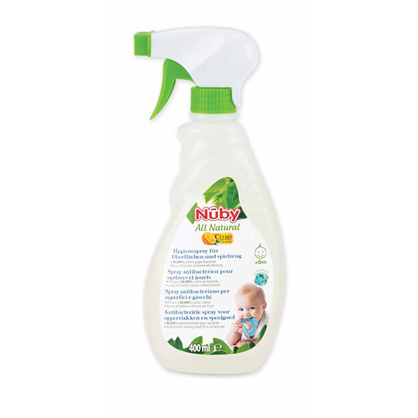 Spray anti-bactérien toutes surfaces 400ml Nuby