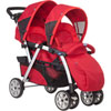 Poussette double together red Chicco